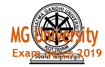 MG University Exam Dates