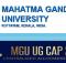 MG University UGCAP 2019
